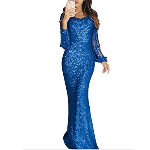 Top 10 Ballkleid Blau Lang - Damen-Kleider - Disemer